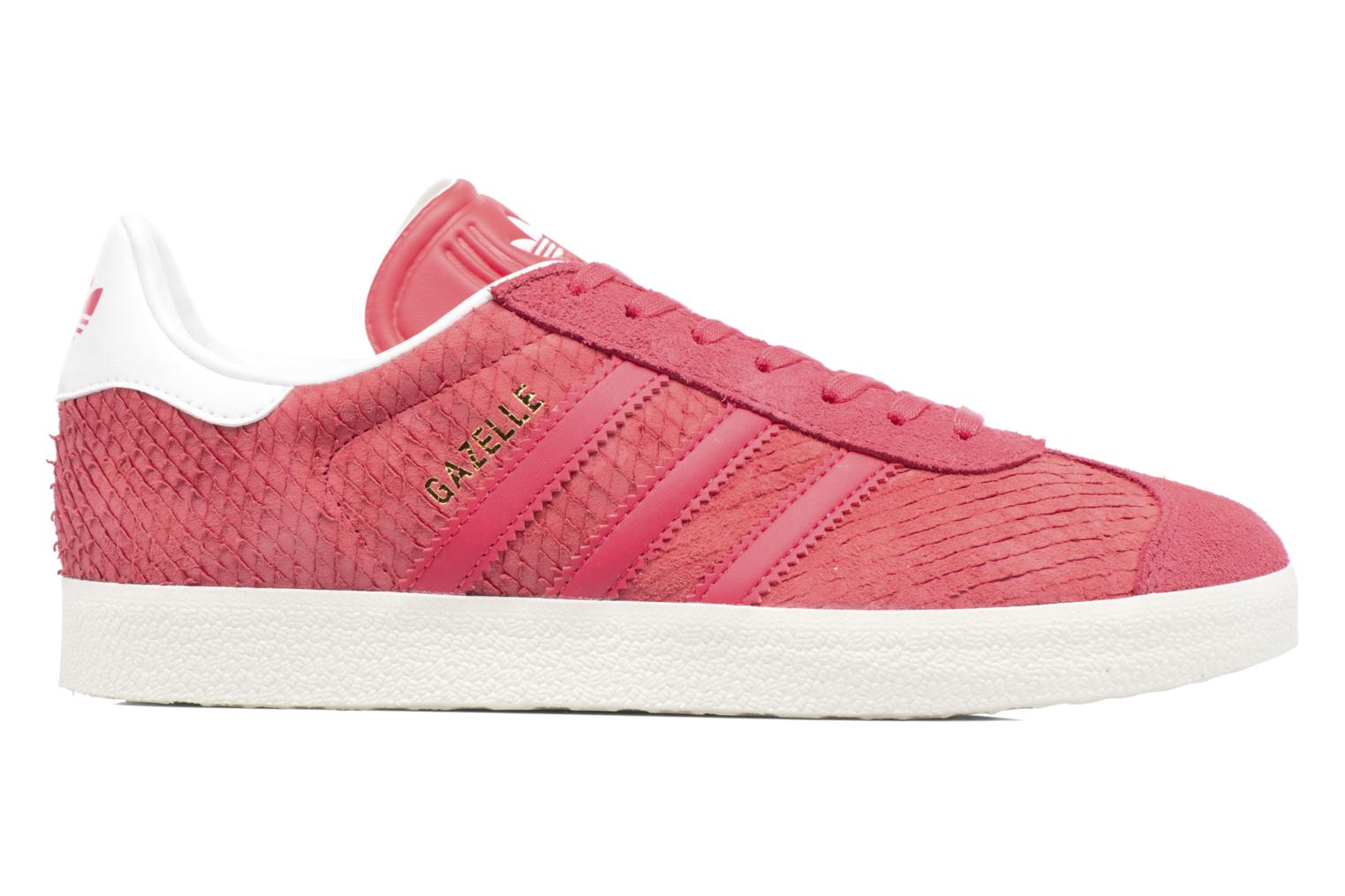 Baskets Adidas Originals Gazelle W Rouge vue derrière